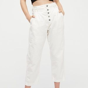 Free People Compass Star Trouser Pant in White